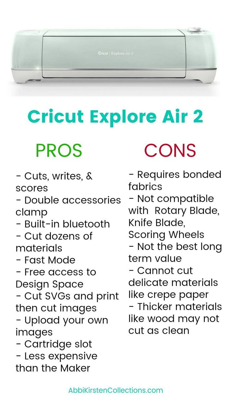 Cricut Maker Vs Cricut Explore Air 2 Which Cricut Machine Is Best In 2020 Cricut Explore Air Cricut Explore Cricut