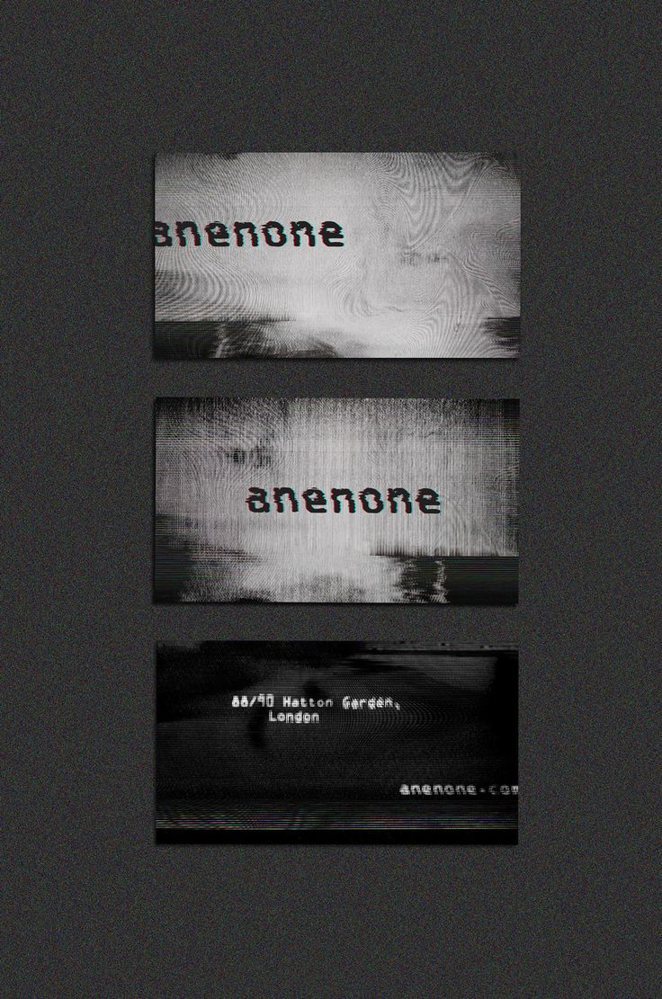 Daria Po – Identity for fashion brand Anenone