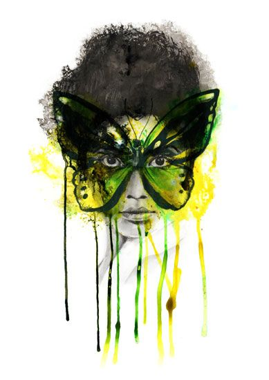 EMERALD (Giclee Signed Limited Edition of 75) by Kerry Beall Print - £90