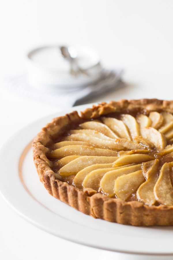 The most delicious and Simple Pear Tart you will try in your life. The PERFECT Thanksgiving - or any other dinner party - dessert.