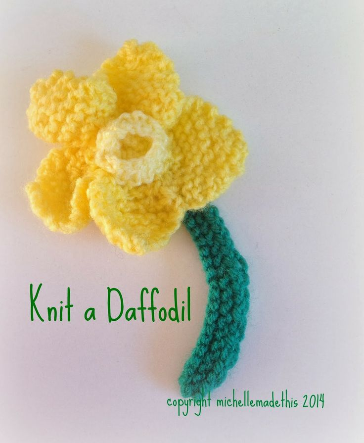 Knitted Daffodil Brooch Pattern : 1000+ images about Quotes, jokes and creativity. on Pinterest Denzel washin...