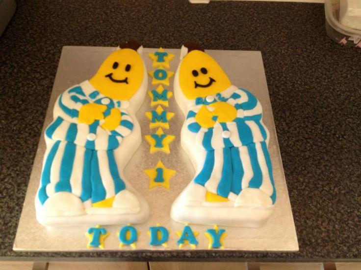 bananas in pyjamas 1st birthday cake
