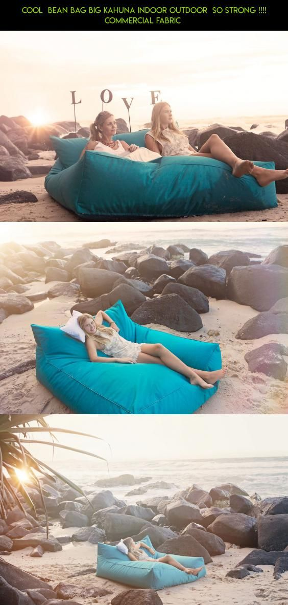 Cool  Bean Bag Big Kahuna Indoor Outdoor  SO STRONG !!!! Commercial Fabric  #fpv #bag #kit #camera #shopping #products #technology #plans #cooling #parts #outdoor #gadgets #racing #tech #drone