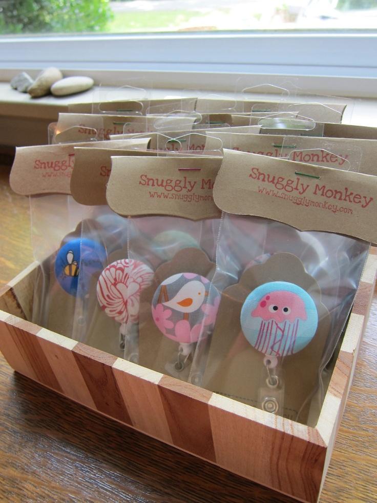 Teacher Gifts - Badge Reels ID Badge Holders - Set of 15. $67.50, via Etsy.