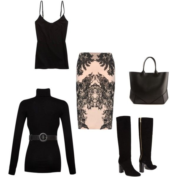 """""""one skirt 2 looks"""" by trendlover-292 on Polyvore"""