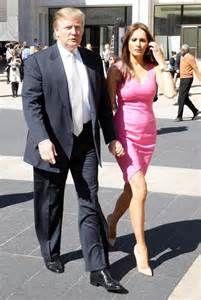 ... fashion show in this photo donald trump melanie knauss donald trump