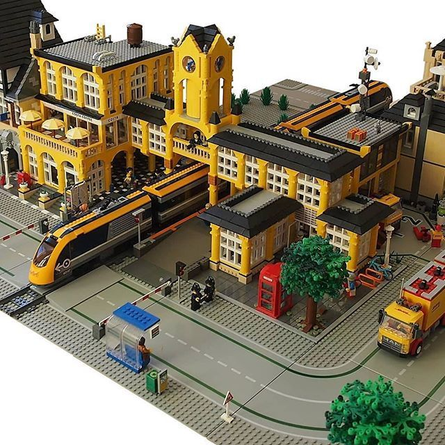 Kevin Lions Gate Models On Twitter Lego Station Lego City Train Lego Train Station