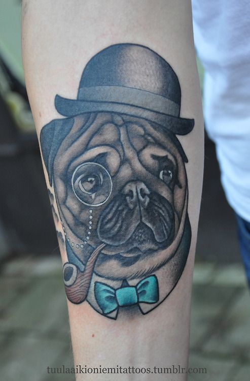 Tattoo Inspiration Pinterest Pug And Tattoos Body