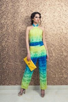 Color Blast Haulter JumpSuit  Rs. 5,000