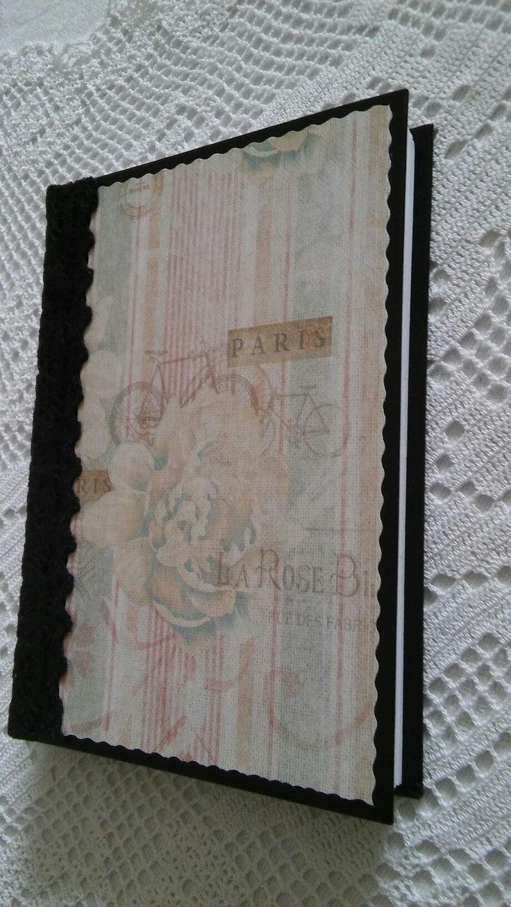 Notesz , A/6-os (handmade) 📖