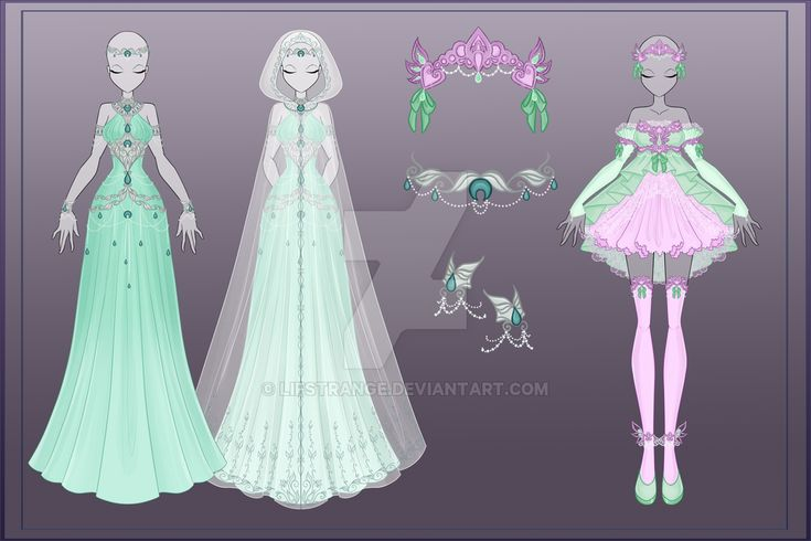 [Close]  Adoptable Outfit Auction 24-25 by LifStrange.deviantart.com on @DeviantArt