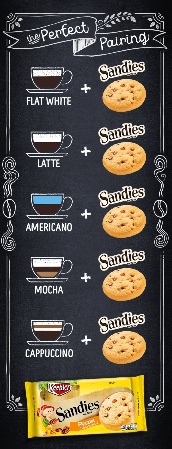 Whether you like your coffee black or light and sweet, Keebler Pecan Sandies Shortbread Cookies have the buttery taste and melt-in-your-mouth texture to create the perfect pairing with any coffee you crave!