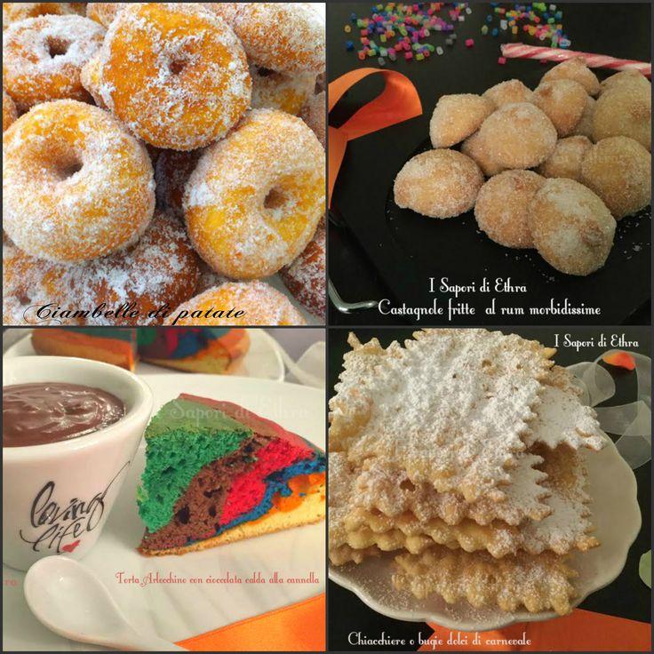 Ricette dolci di carnevale