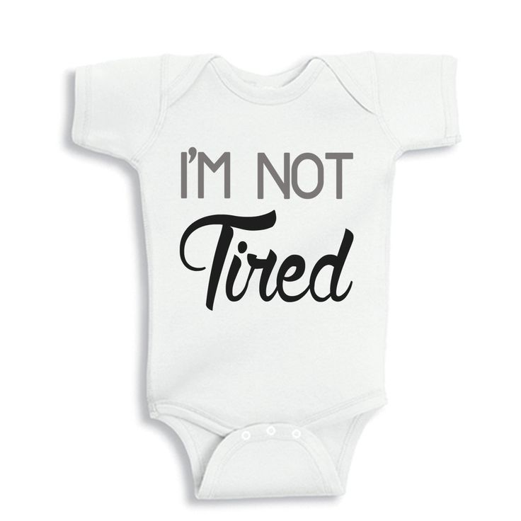 234 best baby onesies images on pinterest babies clothes baby im not tired personalized baby bodysuit or shirt by bodysuitsbynany on etsy negle Image collections
