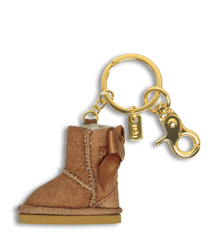bailey button ugg keyring