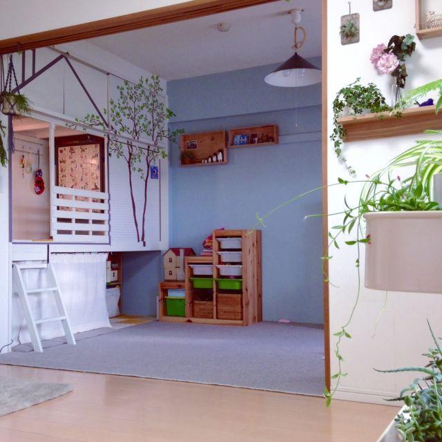こどもと暮らす。/グリーンのある暮らし/DIY/押入れ改造/IKEA/和室を改造…などのインテリア実例 - 2015-09-11 19:54:20 | RoomClip(ルームクリップ)
