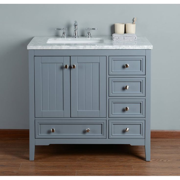 murawski 36 single bathroom vanity set in 2020 single on vanity for bathroom id=92544