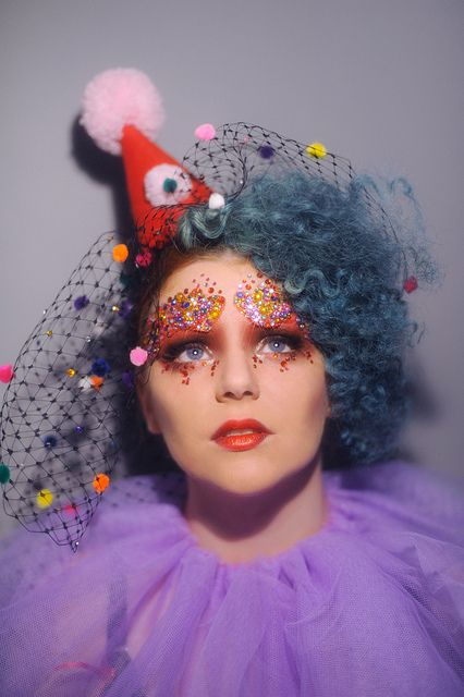 Beautiful vintage clown by Steven Cheshire, via Flickr