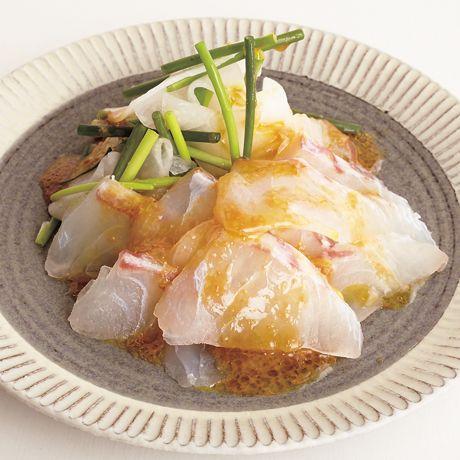 和風カルパッチョサラダ   村田明彦さんのサラダの料理レシピ   プロの簡単料理レシピはレタスクラブニュース