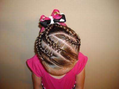 Fotos de peinados con trenzas para ni as cabello pinterest - Trenzas para nina ...