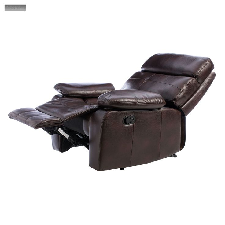 new beige or brown leather recliner lazy boy chair furniture style seat livingroom reclining