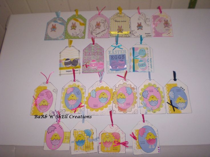 Easter Tags made by Shell