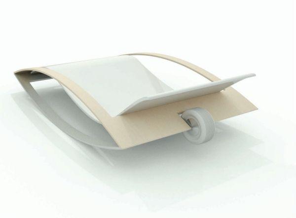Schaukelstühle Sessel-auf Rollen Design innovation