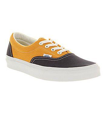 Vans ERA VINTAGE DRESS BLUE SUNFLOWER Shoes - Vans Trainers - Office Shoes