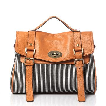 Kate Striped Bag Orange /  Jeopardy & Young