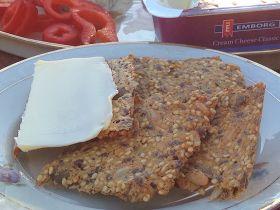 CDJetteDC's LCHF: Super-sprøde mandelmels-knækbrød
