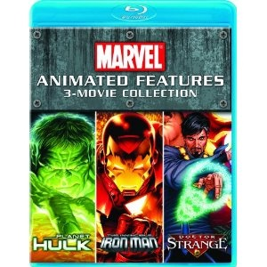 Marvel: Animated 3 Movie Collection    Get into the action and join your mightiest friends with 3 Marvel animated movies: PLANET HULK, THE INVINCIBLE IRON MAN, and DOCTOR STRANGE!
