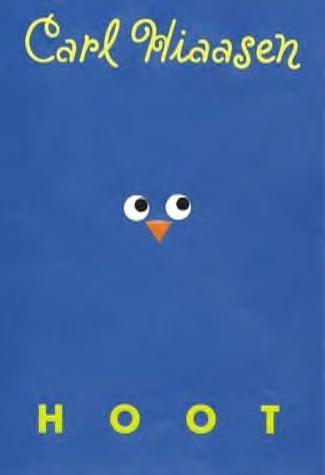 Hoot by Carl Hiaasen, honor award 2003: teens save burrowing owls from habitat destruction, pretty good story.