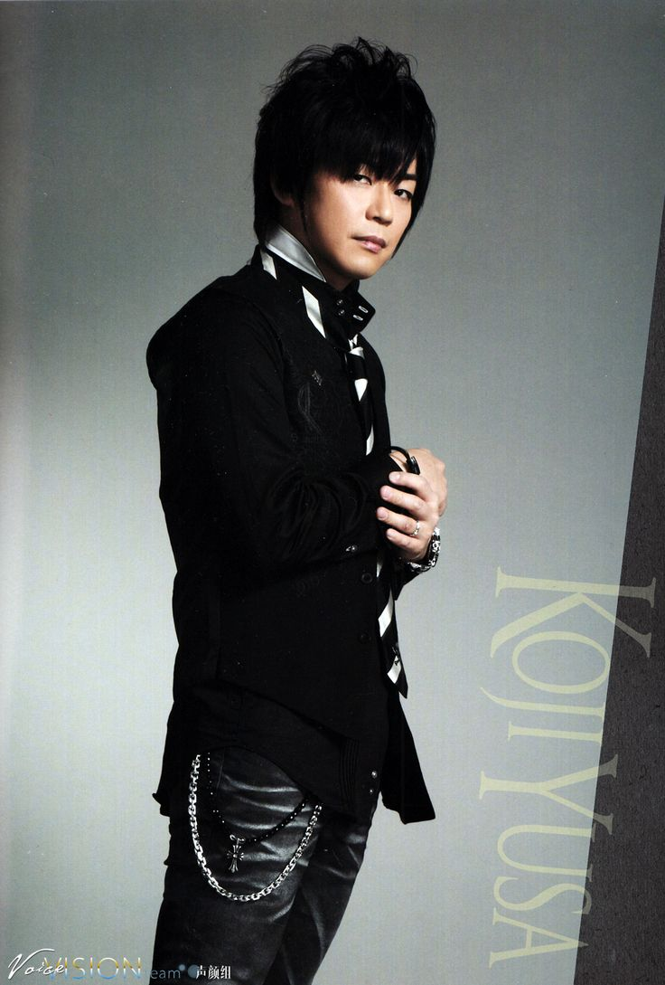 Yusa Kouji : 遊佐 浩二 #seiyuu #voiceactor