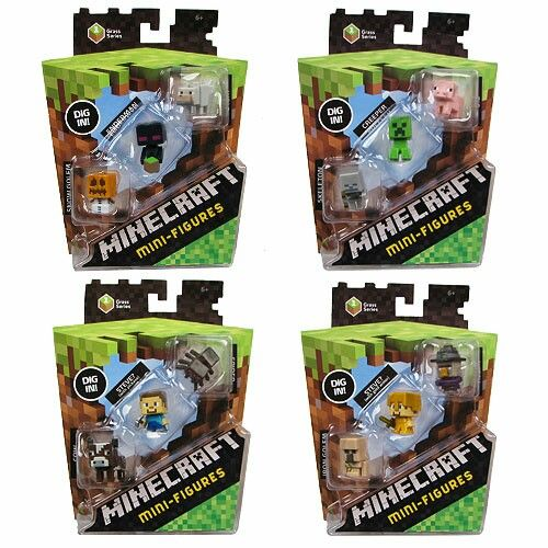 Minecraft Toys And Mini Figures For Kids : Best images about minecraft mini figures on pinterest