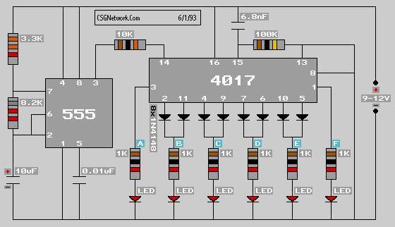 Led Flashing Circuit Diagram Ledandlightcircuit Circuit Diagram