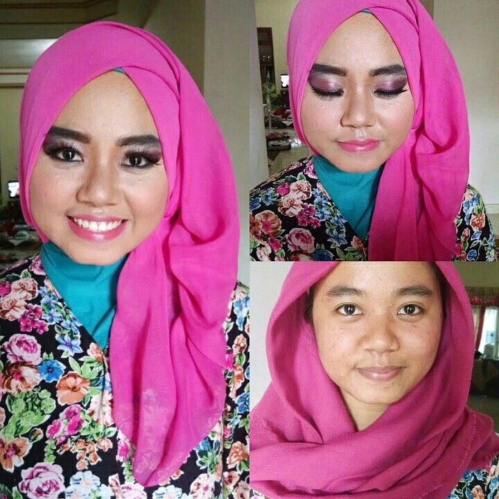 Make Up and Hijab style Wisuda
