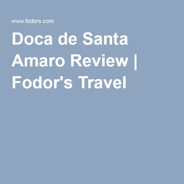 Doca de Santa Amaro Review | Fodor's Travel