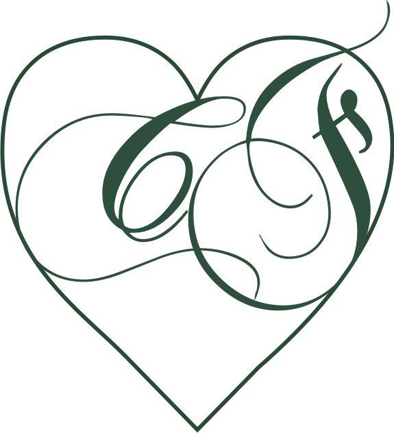 Creazione logo con iniziali degli sposi