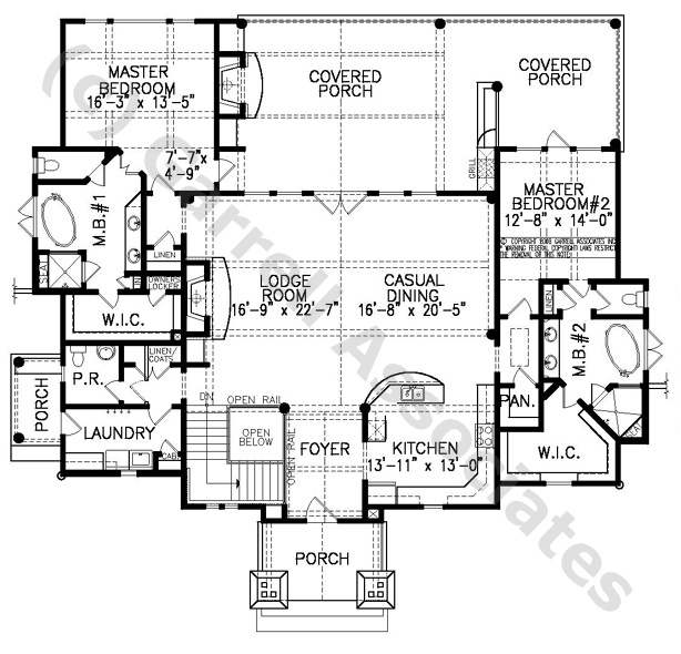 07460 Snow Cap Cottage A House Plan, Floor Plan, Rustic Mountain Style House  Plans, Craftsman Style House Plans, Wheelchair Accessible House Plans