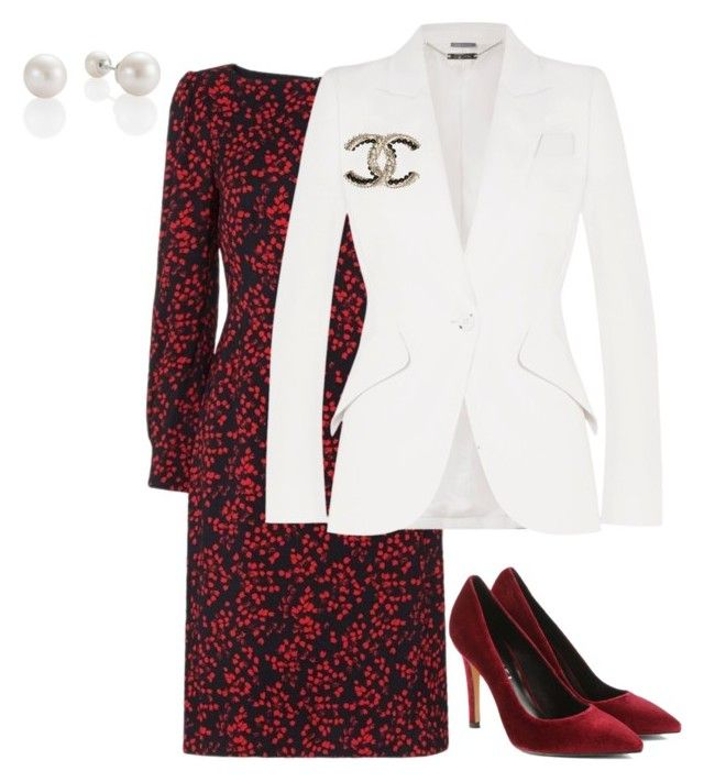 """""""8"""" by explorer-14916524201 on Polyvore featuring Alexander McQueen and Chanel"""