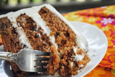 Coconut Infused Carrot Cake With A Coconut Milk Frosting ~ Easter #SundaySupper! | Juanita's Cocina