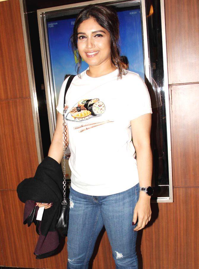 Bhumi Pednekar at #Dhanak screening. #Bollywood #Fashion #Style #Beauty #Hot