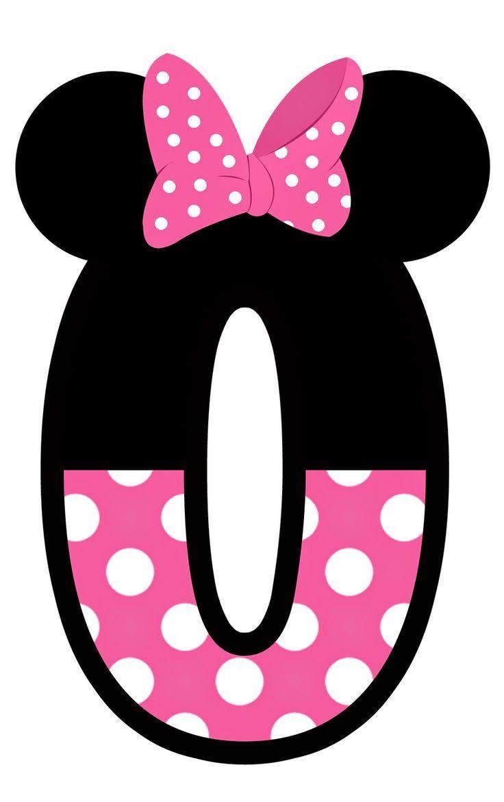 A Arte de Ensinar e Aprender: Números tema do Mickey e Minie Mouse