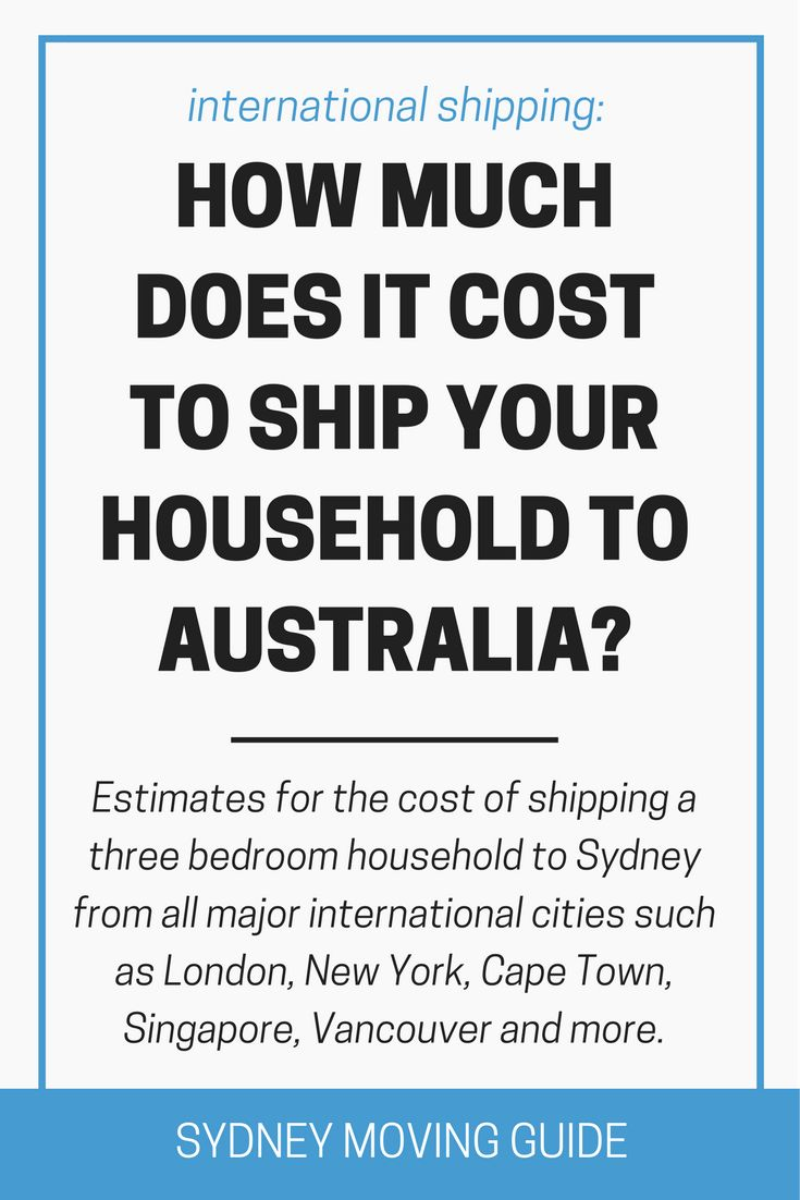154 best moving to australia sydney moving guide images on pinterest aussies australian men for How much to move a 3 bedroom house