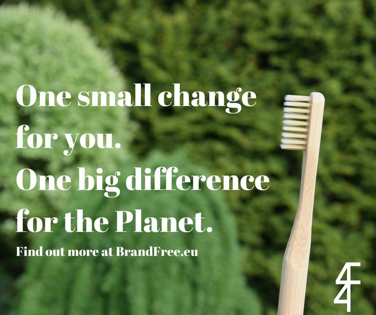Help the environment, fight deforestation and plastic pollution with just one simple step!