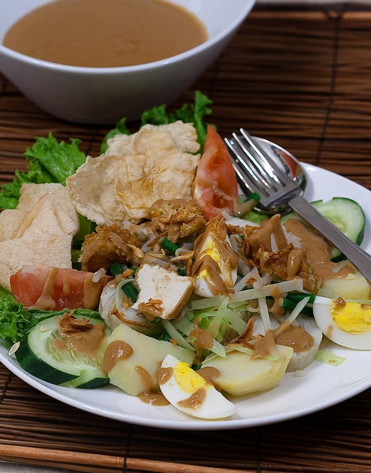 Indonesian's Favorite Salad #GadoGado