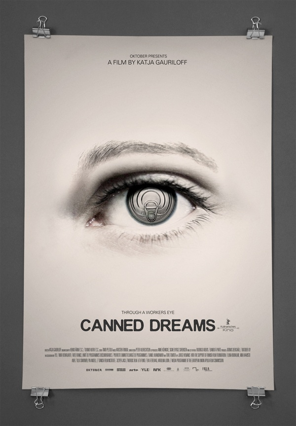 Canned Dreams by Michael Gad, via Behance