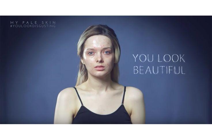 Em Ford – autorka bloga kosmetycznego My Pale Skin – przez trzy miesiące wrzucała w social mediach zdjęcia swojej twarzy bez makijażu. Film zawiera prawdziwe komentarze, które zostawiono pod tymi zdjęciami. Tym filmem chciała udowodnić, że media kreują nierealistyczne oczekiwania wobec urody, zarówno kobiet, jak i mężczyzn.