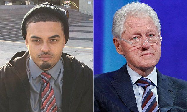 Danney Williams, 30, of Little Rock, Arkansas, claims he is the biological son of former President Bill Clinton.