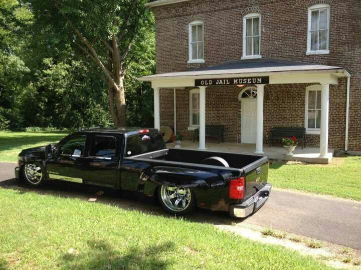 Body Dropped Bagged Dually Trucks Pinterest Cars
